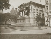 view Sherman Monument [sculpture] / (photographed by Joseph Hawkes) digital asset number 1