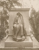 view Adams Memorial [sculpture] / (photographed by Detroit Publishing Company) digital asset number 1