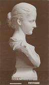 view Louise Adele Gould (side view) [sculpture] / (photographer unknown) digital asset number 1