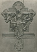 view Preliminary Relief of Crucifixion [sculpture] / (photographed by Mansell) digital asset number 1
