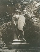 view The Crusader: Victor Lawson Monument [sculpture] / (photographer unknown) digital asset number 1