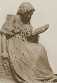 view Model for Girl Reading [sculpture] / (photographer unknown) digital asset number 1