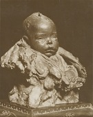 view Bust of a Baby [sculpture] / (photographer unknown) digital asset number 1
