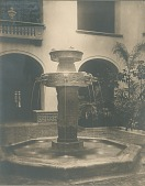 view Aztec Fountain [sculpture] / (photographed by De Witt Ward) digital asset number 1