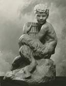 view Faun [sculpture] / (photographed by De Witt Ward) digital asset number 1