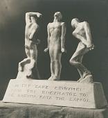 view The Flesh Lusteth Aganist the Spirit [sculpture] / (photographed by De Witt Ward) digital asset number 1