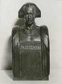 view Paderewski [sculpture] / (photographed by Carl Klein) digital asset number 1