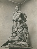view Model for Confederate Women's Monument [sculpture] / (photographer unknown) digital asset number 1