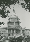 view United States Capitol Building [photograph] / (photographed by I. T. Frary) digital asset number 1
