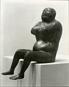view Seated Man [sculpture] / (photographer Soichi Sunami) digital asset number 1