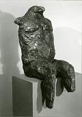 view Seated Birdman [sculpture] / (photographer unknown) digital asset number 1