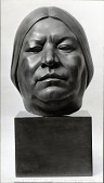 view Head of a Tewa Indian [sculpture] / (photographer unknown) digital asset number 1