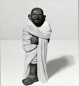 view Ghandi [sculpture] / (photographed by William H. Allen) digital asset number 1