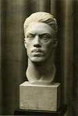 view Portrait Bust of an Athlete [sculpture] / (photographed by A. B. Bogart) digital asset number 1