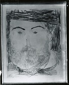 view Portrait of Constantin Brancusi [drawing] / (photographed by Peter A. Juley & Son) digital asset number 1