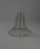 view <I>Wire frame, bell, large</I> digital asset number 1
