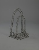 "view <I>Wire frame, ""Heavenly Ports"" double arch</I> digital asset number 1"