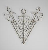 view <I>Wire frame, Knights of Pythias emblem</I> digital asset number 1