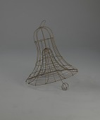 view <I>Wire frame, bell with clapper</I> digital asset number 1