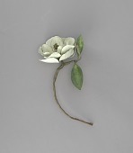 view <I>Metal sculpture, Louisiana and Mississippi state flower - Magnolia</I> digital asset number 1