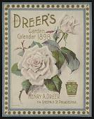 view <I>Seed catalog covers, Dreer's Garden Calendar, 1898</I> digital asset number 1