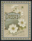 view <I>Seed catalog covers, Dreer's Garden Calendar, 1897</I> digital asset number 1