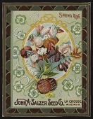 view <I>Seed catalog cover, John A. Salzer Seed Co., Spring 1896</I> digital asset number 1