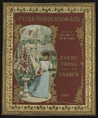 """view <I>Seed catalog cover, Peter Henderson & Co., """"Everything for the Garden,"""" 1904</I> digital asset number 1"""