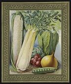 view <I>Seed catalog page, vegetables</I> digital asset number 1