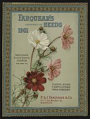 view <I>Seed catalog cover, Farquhar's Catalog of Seeds, 1901: Cosmos</I> digital asset number 1