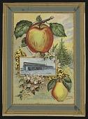 view <I>Seed catalog page, Loading Fruit Trees...</I> digital asset number 1