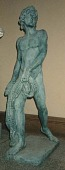 view <I>Statue, man with net</I> digital asset number 1