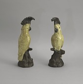 view <I>Statues, pair of cockatoos</I> digital asset number 1