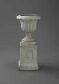 view <I>Urn & pedestal, grape motif</I> digital asset number 1