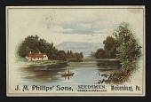 view <I>Trade card, J.M. Philips' Sons Seedsmen</I> digital asset number 1