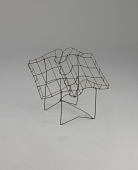 view <I>Wire frame, open book on folding stand</I> digital asset number 1