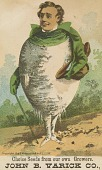 view <I>Trade card, Varick Co.'s turnip man</I> digital asset number 1
