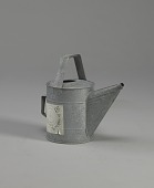 view <I>Watering can, paper lable</I> digital asset number 1