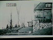 view [Naumkeag]: looking up toward the house and the Afternoon Garden (on the right) from the site of what would become the Water Runnel. digital asset: [Naumkeag]: looking up toward the house and the Afternoon Garden (on the right) from the site of what would become the Water Runnel.: 1932.