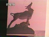 view [The Chimneys]: garden sculpture of a deer. digital asset: [The Chimneys]: garden sculpture of a deer.: [1930?]