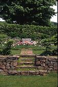 view [Ellsworth Garden]: garden view. digital asset: [Ellsworth Garden] [slide (photograph)]: garden view.