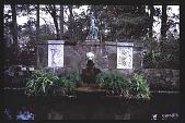 view Jasmine Hill: sculpture and circular pool. digital asset: Jasmine Hill: sculpture and circular pool.: 1986 Mar.