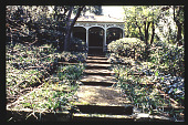 view [Bryner/Doerr Garden]: gazebos. digital asset: [Bryner/Doerr Garden]: gazebos.: 1994 Jul. 19.