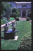 view [Magowan Garden]: Spring view of North Garden. digital asset: [Magowan Garden]: Spring view of North Garden.: 1997 April 4