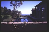 view [Untitled Garden in Santa Barbara, California]: looking south to ocean. digital asset: [Untitled Garden in Santa Barbara, California]: looking south to ocean.: 1997 May 20.