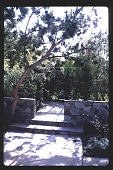 view [Untitled Garden in Santa Barbara, California]: overall view of beach house. digital asset: [Untitled Garden in Santa Barbara, California] [slide]: overall view of beach house.