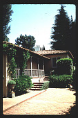 view [Untitled Garden in Hollywood, California]: Mediterranean style house. digital asset: [Untitled Garden in Hollywood, California] [slide]: Mediterranean style house.