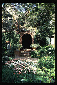 view [Untitled Garden in Los Angeles, California]: front entry. digital asset: [Untitled Garden in Los Angeles, California] [slide]: front entry.