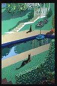 view [Lampen Garden]: Mural, closeup of pool. digital asset: [Lampen Garden]: Mural, closeup of pool.: 1998 Apr. 30.