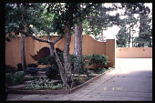 view [El Mardon]: driveway. digital asset: [El Mardon]: driveway.: 1997 Aug.